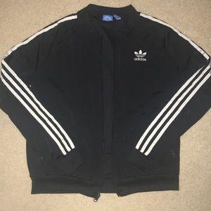 Adidas trefoil 3 stripe jacket